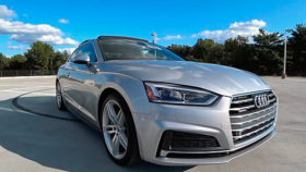 Фото 2018, Audi, A5, 2.0T, Redline, ауди, серебро, купе