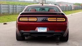 Фото 2018, Dodge, Challenger, SRT, додж, челенджер, спорт, красный