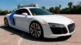 Картинка Audi, r8, coupe, white, ауди, белый, спорт, купе, 2015