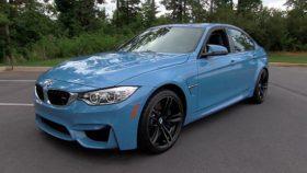 Фото BMW, M3, бмв, f80, sedan, синий, 2015