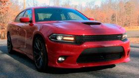 Фото Dodge, charger, srt, sedan, red, додж, чарджер, срт, 2015