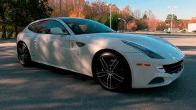 Авто Ferrari, ff, coupe, белый, феррари, купе, 2012