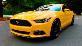 Авто Ford, mustang, coupe, форд, мустанг, купе, 2015
