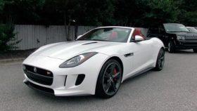 Фото Jaguar, F-Type S, V6, ягуар, белый, 2014