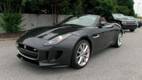 Фото Jaguar, F-Type S, V6, ягуар, тупе с, black, 2014
