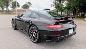 Porsche, 911, фото, Turbo-S, порше, турбо, купе, coupe, с зади, 2015