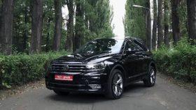 Авто Volkswagen, Tiguan, black, фольксваген, тигуан, черный, джип, 2017