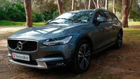 Фото Volvo, V90, T6, AWD, Cross, Country, кросс, кантри, вольво, лес