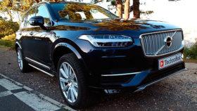 Фото Volvo, XC90, вольво, black, кроссовер