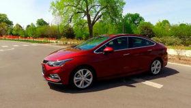 Фото Chevrolet, Cruze, RS, шевроле, круз, седан, red, 2016