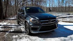 Фото Mercedes-Benz, GL 63, AMG, мерседес, бенц, амг, кроссовер, зима, 2016