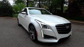 Фото Cadillac, CTS V, Sport, Redline, кадиллак, спорт, седан, 2017