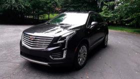 Фото Cadillac, XT5, кадиллак, кроссовер, 2017