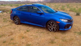 Фото Honda, Civic Si, хонда, цивик, седан, синий, 2017
