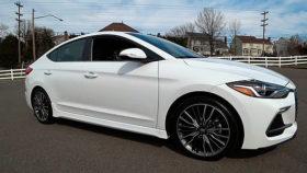 Фото Hyundai, Elantra, Sport, 6MT, хендай, элантра, спорт, sedan, белый, седан, 2017