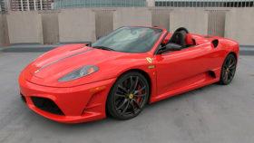 Фото Ferrari, F430, Scuderia, Spider, феррари, красный, спайдер, 2010