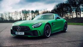 Фото Mercedes-Benz, AMG, GT R, мерседес, джи ти эр, спорт, green