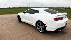 Фото Chevrolet, Camaro, 2SS, шевроле, камаро, купе, белый, 2018