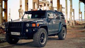 Авто Hummer, H3, хаммер, внедорожник