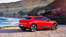 Авто Jaguar, I-Pace, ягуар, берег, 2018