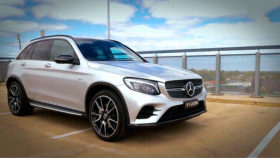 Фото Mercedes-Benz, AMG, GLC 43, мерседес, бенц, кроссовер, 2018